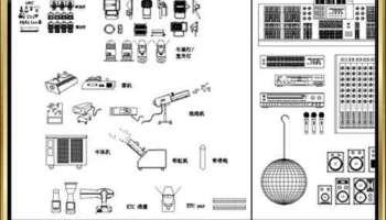 ☆【Auditorium CAD Drawings Collection】@Auditorium Design