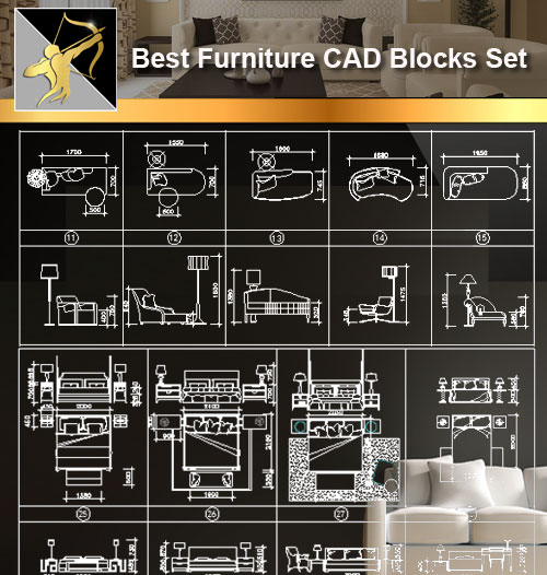Bedroom Elevations Interior Design Elevation Blocks What: Furniture CAD Set】@Autocad Blocks,Drawings,CAD Details