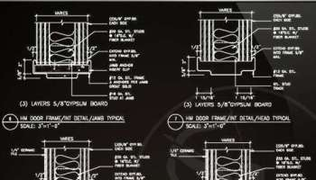 ☆【Door Jamb Details】☆ – Free Autocad Blocks & Drawings Download