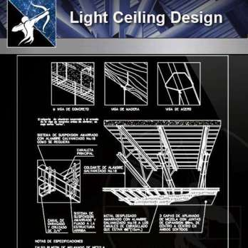 【Architecture CAD Details Collections】Light Design,Ceiling Design CAD Detail