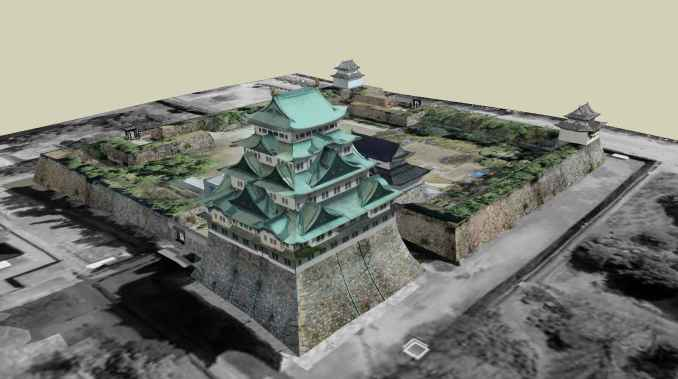 """Nagoya Castle is a castle located in Nagoya, Aichi Prefecture, Japan. The Edo period was the main residence of the Owari clan, and was nicknamed """"Golden City"""" and """"Golden City"""". One of the top 100 cities in Japan. Formerly known as the ancient city of Oda's residence."""