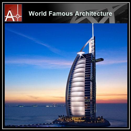 Burj Al Arab Jumeirah Sketchup 3D model
