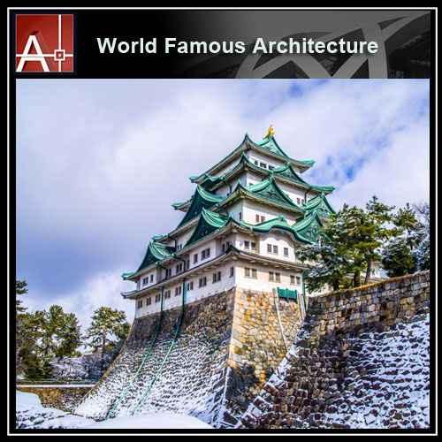 Nagoya Castle Sketchup 3D modelNagoya Castle Sketchup 3D model