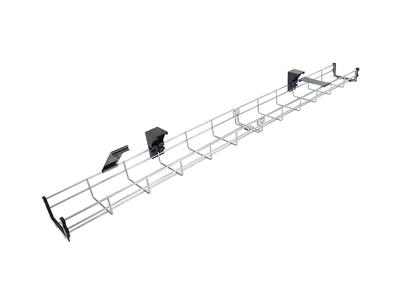 Under Desk Cable Tray Basket Galvanized Steel Mesh Cord