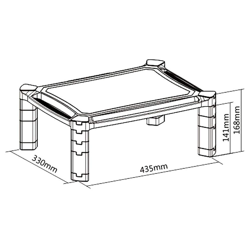 PMS0-series Laptop Printer Stand / Monitor Riser Height
