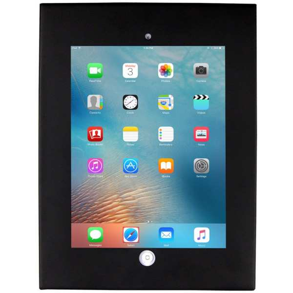 Allcam Anti-theft secure iPad holder Air Air2 enclosure case wall mount