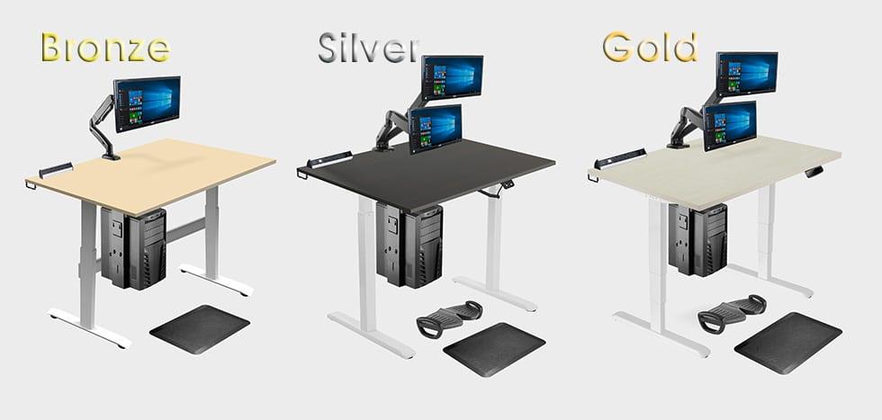Allcam Ergonomic Suites: bronze, silver, gold