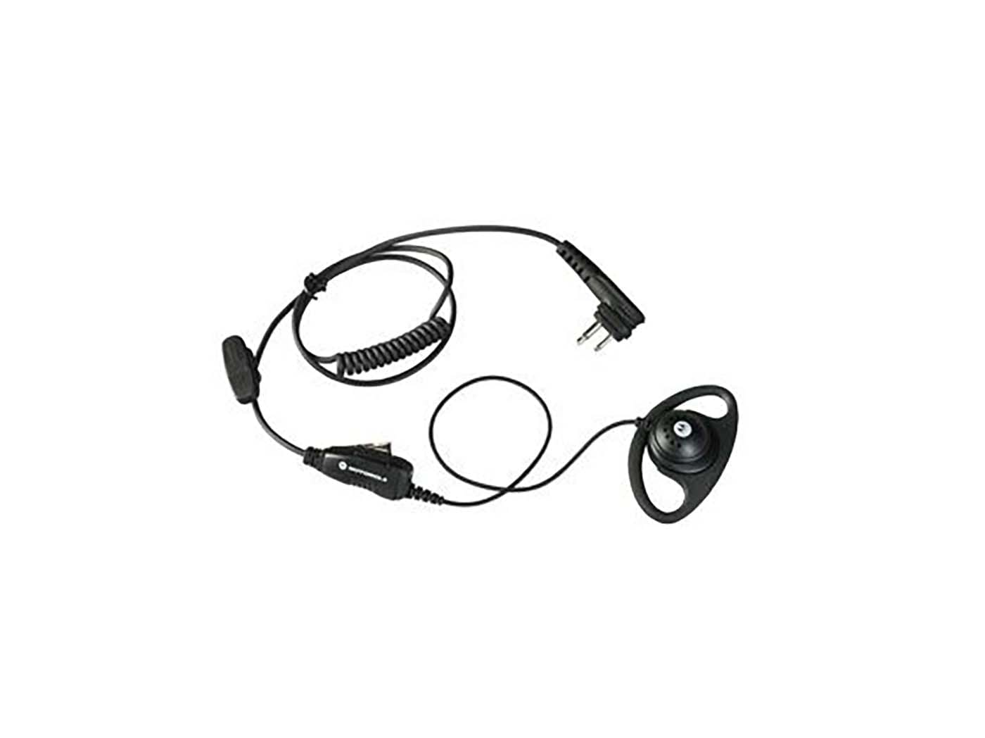 1-Wire Inline PTT Surveillance Kit with D-Clip for SL