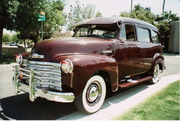 1951 Chevy Deluxe Convertible