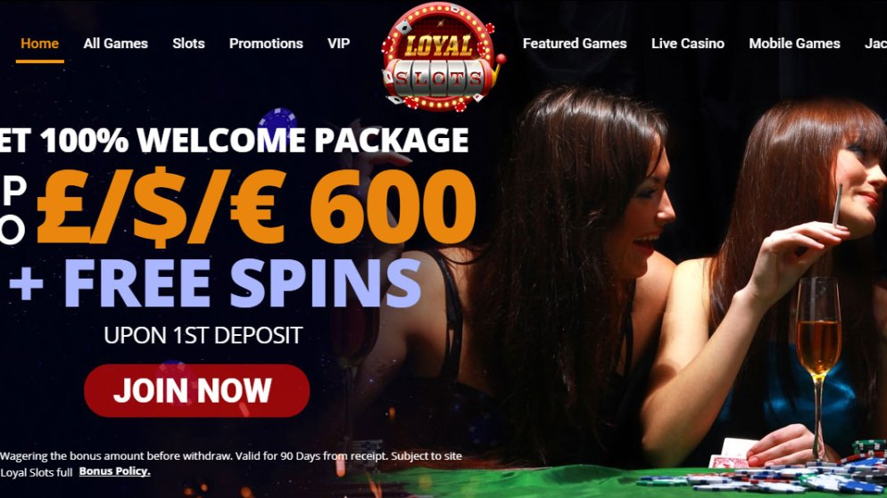 Play Featured Casino Games Online With Loyal Slots