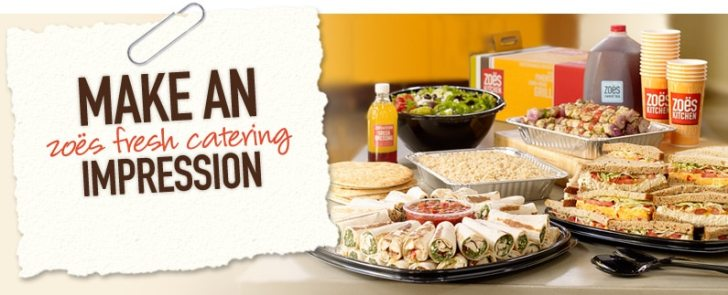 Your Zoes Kitchen Catering Order Today More Information