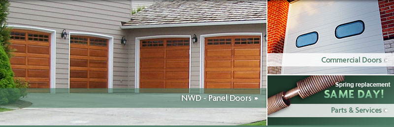 All City Garage Door  Northwest Door Garage Doors  Panel