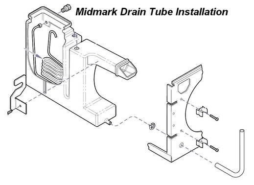 Midmark M11 DRAIN HOSE KIT [MIK061-805]