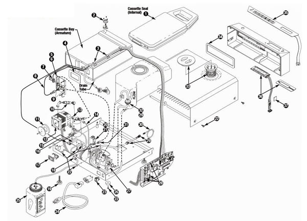 Statim Exploded View & Parts Listing