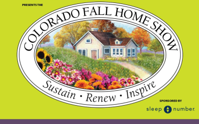 Come see us at the Colorado Fall Home Show