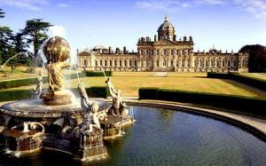 Glorious Castle Howard just north of York. photo: telegraph.co.uk