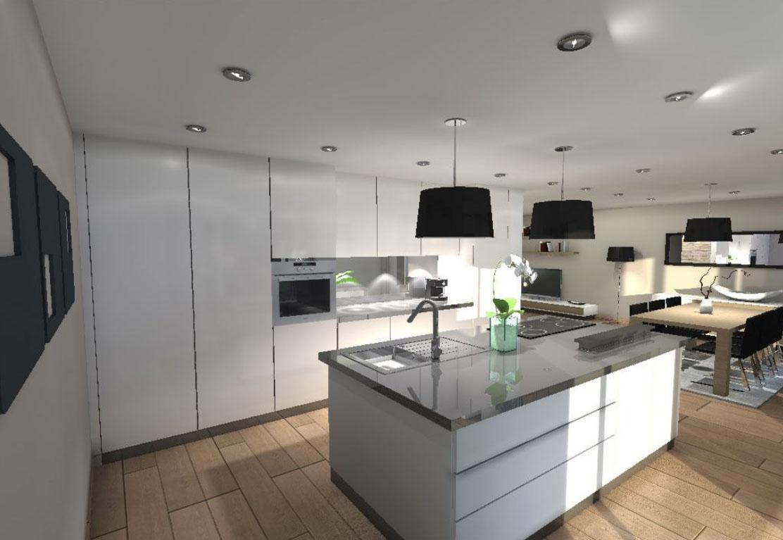 plan de cuisine 3d