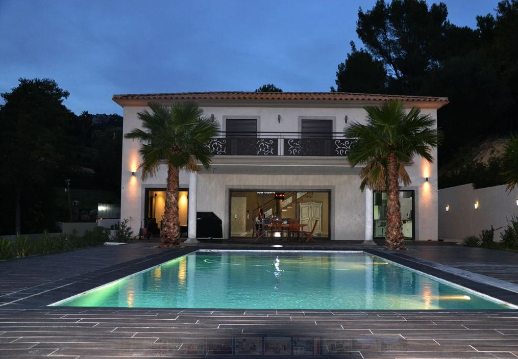 architecture interieure et decoration de villa a ollioules