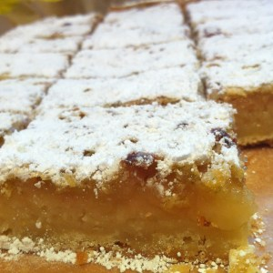lemon curd slice