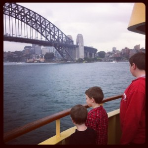 The Berry's Excellent Adventure - ferry