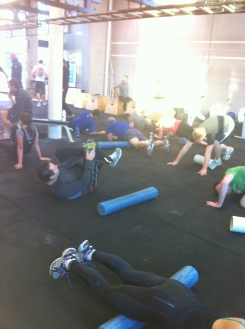CrossFit cooldown