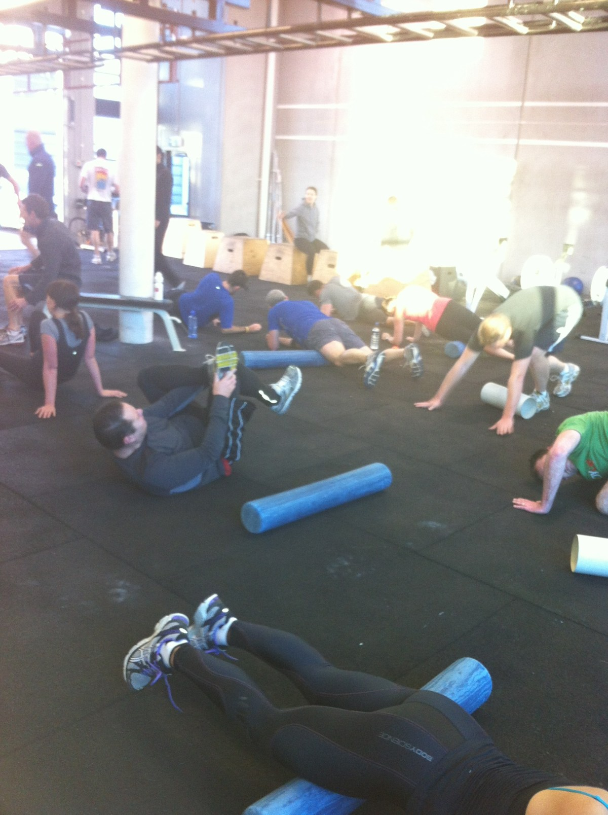CrossFit cooldown