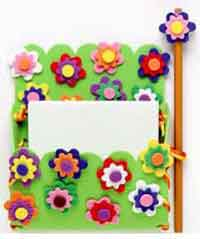 Flower Power Locker Pocket