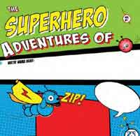 All About Me Superhero Book
