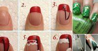 10 Adorable DIY Christmas Nail Art Ideas - All Created