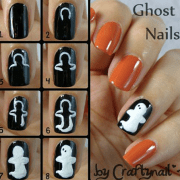diy halloween nail art tutorials