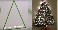 Awesome Picture of Wall Mounted Christmas Tree - Fabulous ...