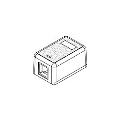 Commscope 1-1116697-1 Work Area Outlets; Modular Jack Box