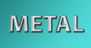 Best Photoshop Metal Text Effects PSD