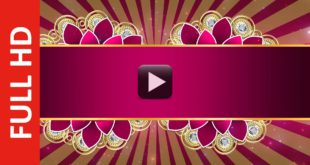 Royal Wedding Invitation Title Motion Background Loops Video HD