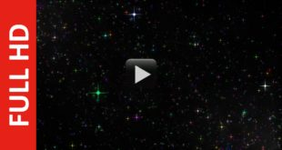 Royalty Free Colorful Sparkles Particles Stars Black Screen Background Video Effect