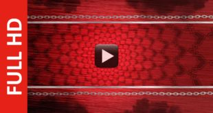 New Red Smoke Title Background Video Effects HD Download