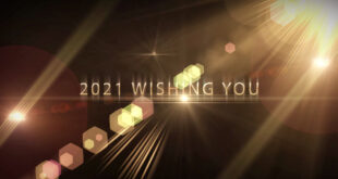 Happy New Year 2021-Wishing A New Year Greetings Motion Graphics Video-Bye Bye 2020