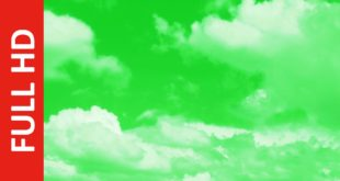 Best Cloud Green Screen Video Background | Realistic Free Moving Clouds Animation