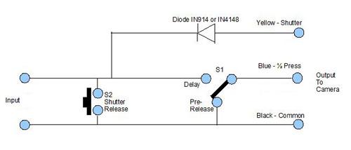 Making a Nikon Camera Remote Control Release