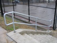 Galvanized Pipe Railing
