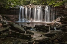 A view from Ricketts Glen State Park in northeastern Pennsylvania. Photo: William Doyle via Flickr