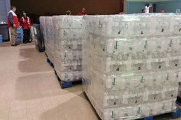 Residents of Sebring, Ohio have been picking up bottled water after they learned some homes were found to have elevated levels of lead in their drinking water. Public officials knew months ago. But the community wasn't officially informed until January 21. Photo: Julie Grant