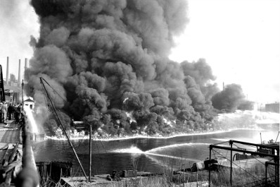 How a Burning River Helped Create the Clean Water Act - The Allegheny Front