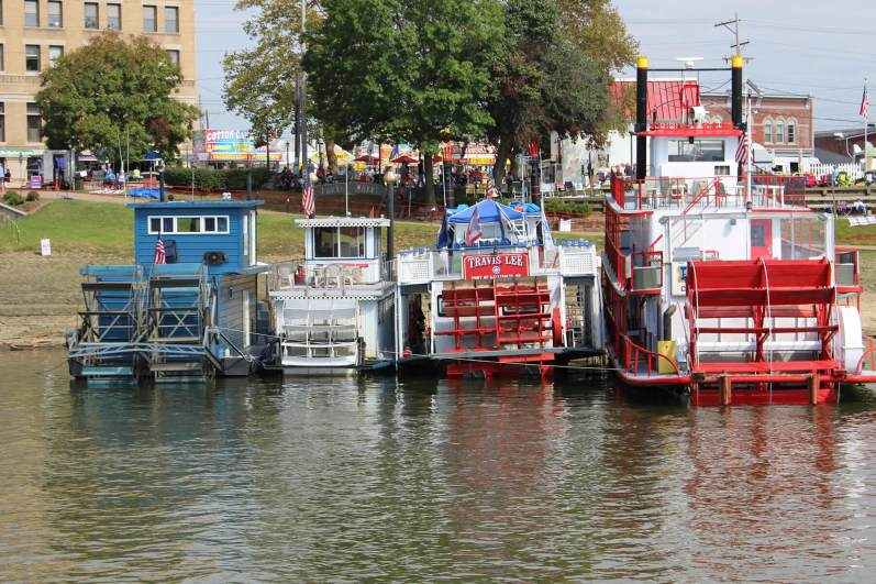 The 44th annual Ohio River Sternwheel Festival attracted an estimated 30,000 people to Marietta, Ohio, from Sept. 11 to 13, 2019. (Photo by Julie Grant/The Allegheny Front)