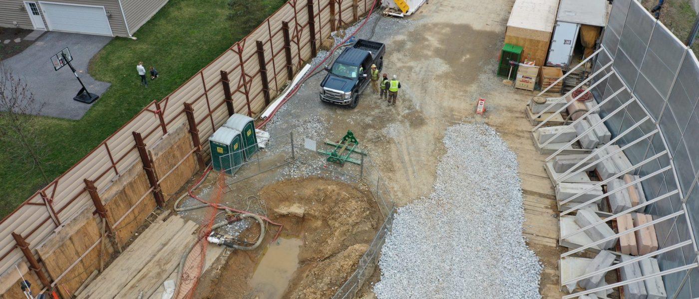 Mariner East pipeline construction