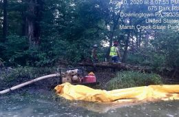 Drilling Mud Spill