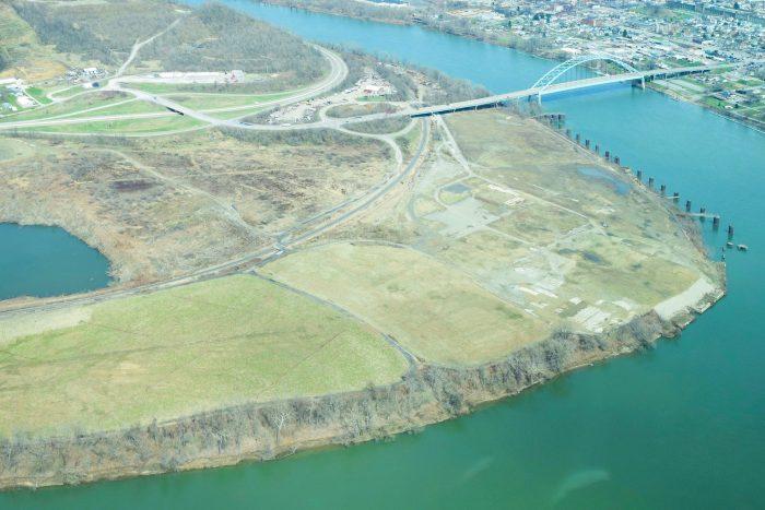Belmont County, Ohio cracker plant site