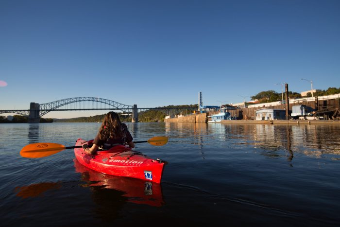 Ohio River Kayaker