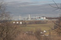 Mark West natural gas processing facility