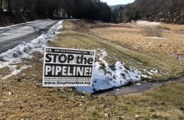 PennEast pipeline opposition sign